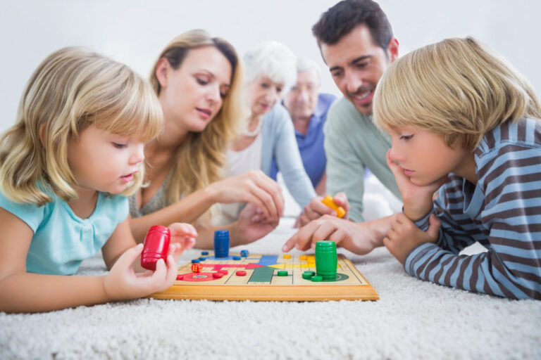 Family-Based Games: How Games Nights Can Foster Family Connections